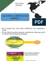 Zonas Climaticas y Recursos Naturales