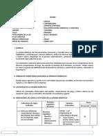 Silabo IC Documentación Comercial y Contable 2017.1