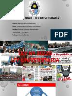 Ley Nº 30220 – Ley Universitaria.pptx