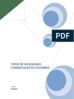 18 Tipos de Sociedades Comerciales en Colombia