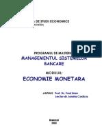 Bran. 2003. Economie Monetara