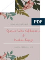 Contoh Buku Pengajian Menjelang Pernikahan