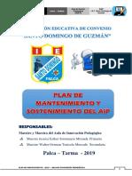 Plan de Matenimiento Preventivo de Aip 2019 Sdg