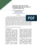 Analisis Rasio Arus Kas Untuk Mengukur Kinerja Keuangan Pada Pt Kalbe Farma Tbk.