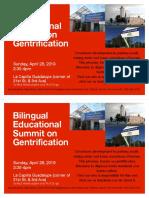 Gentrification Flyer PDF