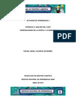 Evidencia 3 Analisis Del Caso Generalidades de La Oferta y La Demanda