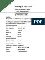 Curriculum Vitae Julio NUEVO 2018