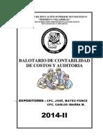 Balotario Seminario Julio 2014 II