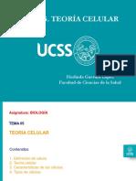 Biologia 2019 UCSS Tema 05 Fac Ciencias Salud