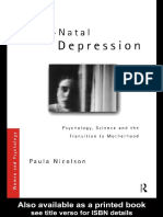 (Women and Psychology) Paula Nicolson - Post-Natal Depression_ Psychology, Science and the Transition to Motherhood (Women and Psychology)-Routledge (2006).pdf