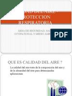 Calidad Del Aire en La Proteccion Respiratoria