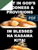 Gods provision