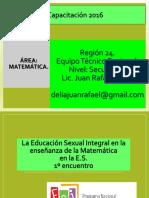 1° 2º y 3º enc_La ESI en la matematica