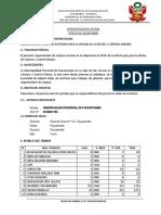 Terminos de referencia de Madera
