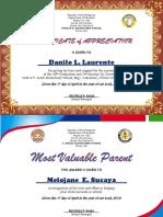 Certificate Po