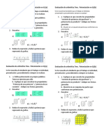Evaluación de Aritmetica 7mo. Radicacion de Numeros Racionales.