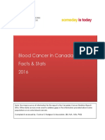 Blood Cancer in Canada Facts & Stats 2016