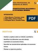 Metodos Cuantitativos Aplicadas a La Economia Mineria