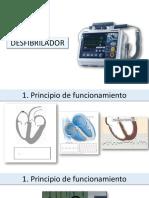 Desfibrilador y Maquina de anestesia