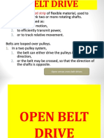 a new modern belt drive transmission .ppt