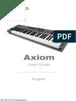 M-Audio Axiom 61 MIDI Controller Axiom 61