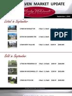 Woodhaven Market Update   Sherwood Real Estate   September 2010