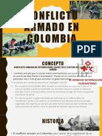 Conflicto Armado en Colombia Desarrollo y Extension Rural