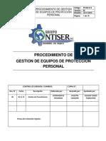 PI -SGI-012     PROCEDIMIENTO DETECCIÓN DE NECESIDAD DE EPP.docx