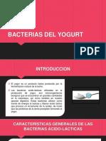 bacterias del yogurt
