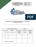 PI -SGI-003     PROCEDIMEINTO PARA LA IDENTIFICACION MANIPULACION Y ALMACENAMIENTO DE SUSTANCIAS PELIGROSAS.docx