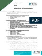 5. Órganos Administrativos y Actividad de Gobierno