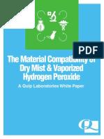 H2O2 Material Compatibility White Paper