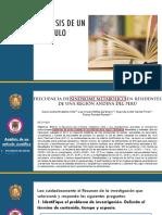 Análisis de Un Artículo Científico. pptx