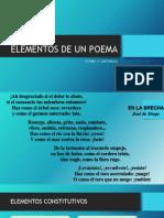 elementos de un poema