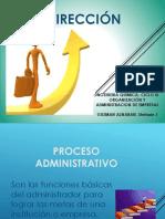 Direccion en La Administracion