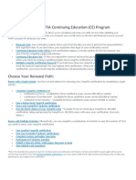Comptia Continuing Education Activity Chart Sep4