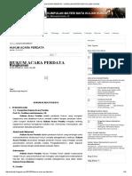 Dasar Hukum Acara Perdata Indonesia