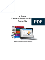 Examplify Guide for Students | Operating System