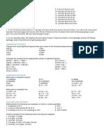 Worksheet Physics