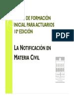 Diapositivas Notificación Civil