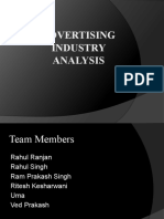 Advertising Industry-Strategy Management
