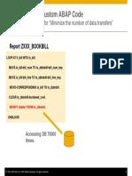ABAP ON SAP HANA – Optimization of Custom ABAP Codes for SAP HANA- Presentation-9.pdf