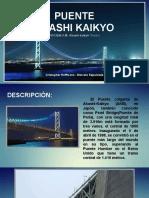 Puente Akashi Japon