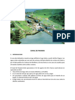 Canal de Panama Word