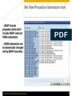 ABAP on SAP HANA – Optimization of Custom ABAP Codes for SAP HANA- Presentation-31
