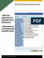 ABAP on SAP HANA – Optimization of Custom ABAP Codes for SAP HANA- Presentation-31