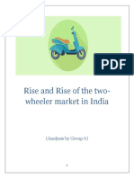 Consumers Owning Two Wheelers in India
