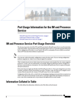 IMP Port Utilization
