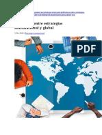 modos de ingreso a mercados internacionales