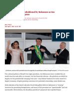 2019 04 02 - Brazil's Art Market Emboldened by Bolsonaro as São Paulo's SP-Arte Fair Opens _ the Art Newspaper
